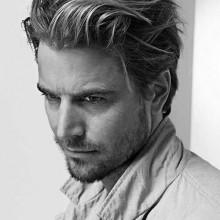mittlerer Länge Stile für Herren-dickes Haar