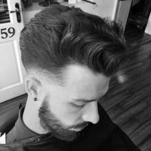 mittlerer Länge wellig Frisuren für Herren