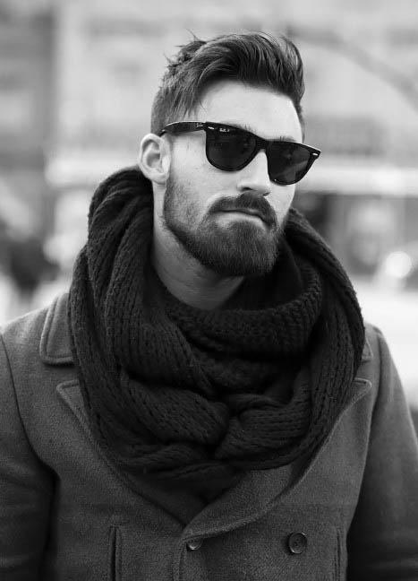 Männer Medium Gewelltes Haar