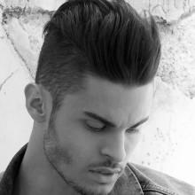 moderne Frisuren für lockiges Haar Männer