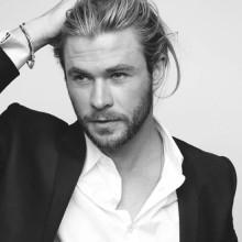 moderne lange Frisuren für Männer mit dicken Haaren