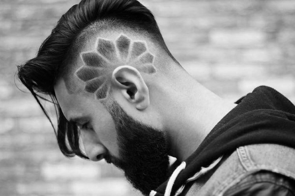 Moderne Trendigen Undercut Jungs Frisuren Kunstopde
