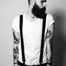 modernen Frisur-Ideen für Männer mit Bärten