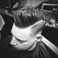 modernen Herren stilvolle Frisuren