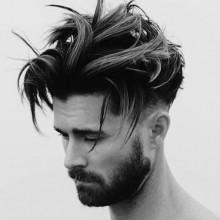 modernen chaotisch Herren Frisuren medium Haare