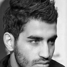 modernen männlichen Haarschnitte für Mohikaner