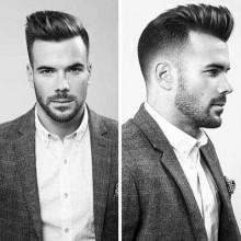 modernen pompadour Frisuren für Männer