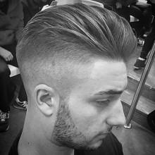 modernen taper fade-Haarschnitte für Männer