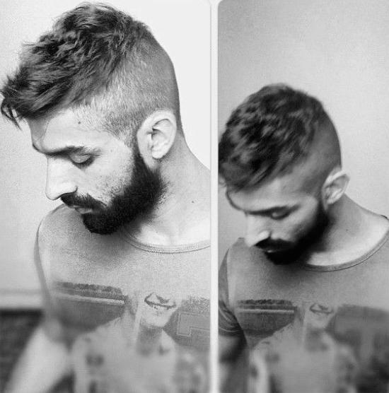 Mann kurze haare Kurze Männer