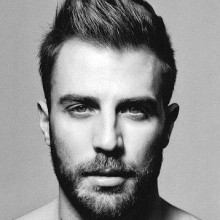 - modische Frisuren für Männer mit kurzen, dicken Haare