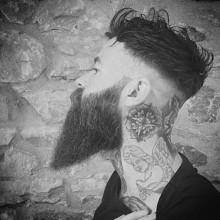 modischen undercut Frisur Herren