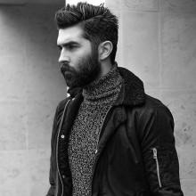 neat-medium Haarschnitte für Männer mit glatten Haaren
