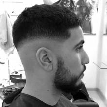 nette Herren kurze Frisuren für dünne Haare