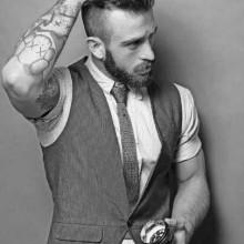 neue mohawk Frisuren für Männer