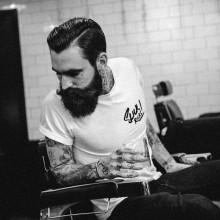 ordentlich hipster Herren-Haarschnitte harte Teil ölspray