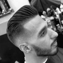 ordentlich hoch taper fade Frisuren für Männer