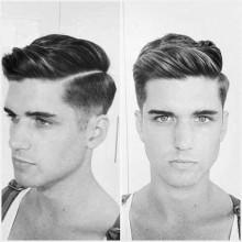 parted Haarschnitt