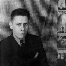 paul cadmus high-top Herren 1930er Jahren altmodischen Haarschnitt