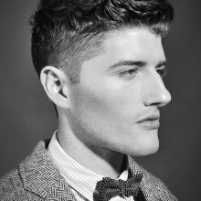 professional Herren curly-fade-Haarschnitt-kurze Länge