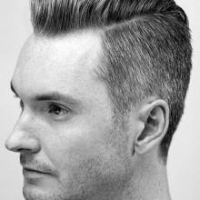 professionelle Frisuren für Männer mit mittlerer Haar