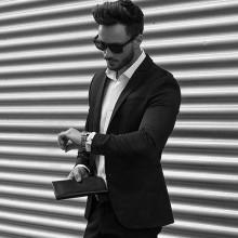 professionelle business-Mittel-lang Frisuren für Männer