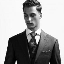 professionelle schwer Frisur für business-Männer