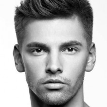raffinierten male kurze Frisuren für feines dünnes Haar