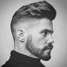 rasieren auf der Seite Frisuren für Männer