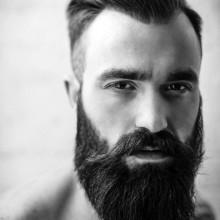 rasierte Seite Frisur für Männer
