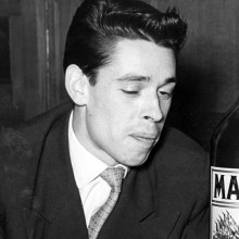 retro Herren-Frisuren der 1950er Jahre kurze pompadour