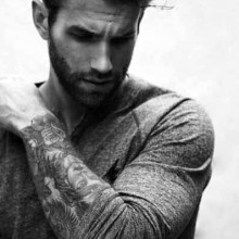 robusten männlichen moderne Frisur inspiration