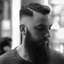 sauberen Schnitt hartes Teil, mens hair style