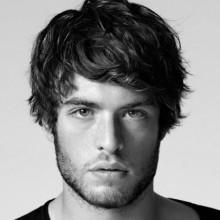 shaggy Haarschnitt für mittlere Haar Männer