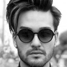 short Herren-Frisuren für Dicke Haare