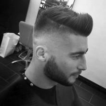 short faux hawk Herren high-fade-Haarschnitte