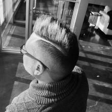 short faux hawk fade Haare für Männer