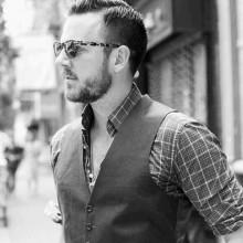 short hipster Haarschnitte Männer harte Teil