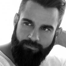 short männliche wellige Frisuren für Dicke Haare