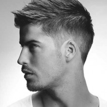 short messy Frisuren für Männer