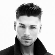 short spiky hairstyles men