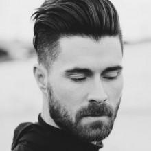 short stilvolle Herren Mode Haarschnitte