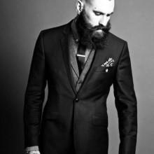 slicked zurück professionelle Frisuren für Männer