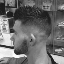 spiky Frisuren für Männer mit kurzen Haaren