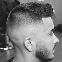 spiky stilvolle Herren kurze Haarschnitte Ideen