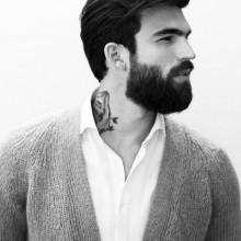 stilvolle Frisuren für Männer mit mittlerer Haar