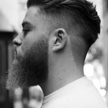 stilvolle Männer kurze wellige Frisuren