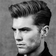 stilvolle kurze Haarschnitte für Männer mit dicken Haaren