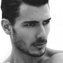 stilvollen Haarschnitt Herren classic Mode