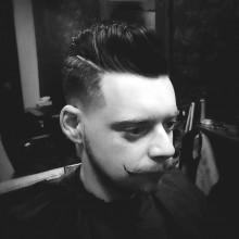 stilvollen Haarschnitt für Herren