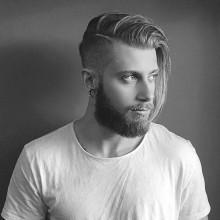stilvollen Männer-Frisuren für lange Haare